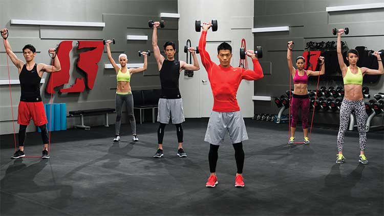 BT Light: Chest, Shoulders, and Triceps