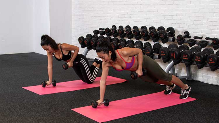 Get Fit with the Liu Twins: Day 4 Back