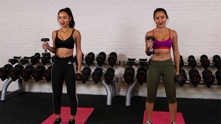 Get Fit with the Liu Twins; Day 6 Arms