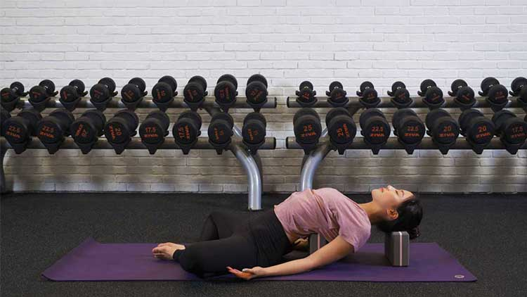 Learn to Open Up and Relax your Upper Body